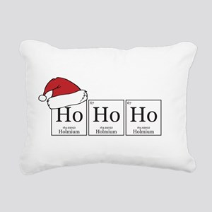 Ho Ho Ho [Chemical Elements] Rectangular Canvas Pi